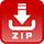 zipダウンロード