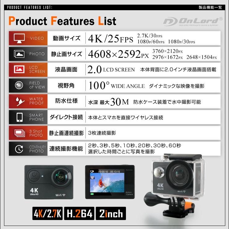 GoPro(ゴープロ)クラス ウェアラブルカメラ アクションカム (OL-103)