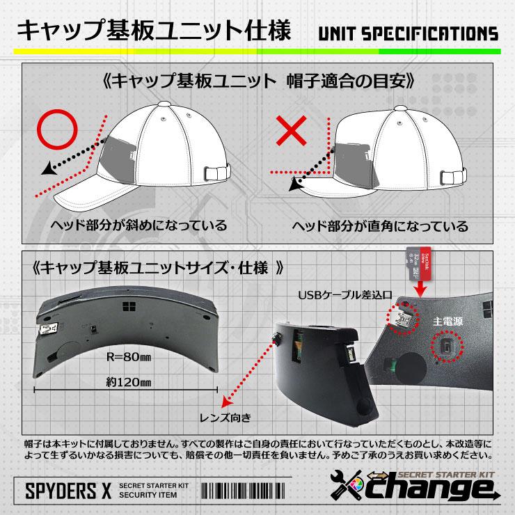 スパイダーズX change 小型カメラ DVDケース ブラック シークレットキット 防犯カメラ 720P スパイカメラ CK-006A