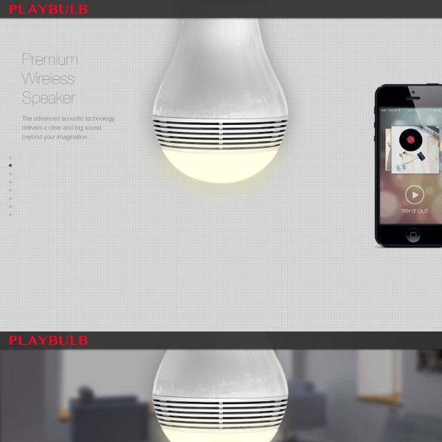 高音質Bluetoothスピーカー内蔵LED電球 E26/E27 スマートフォンの音楽が天井から広がる 専用アプリで照明のコントロールも自在に iPhone/Android両対応 シルバー 電球色 『PLAYBULB Original』 (OA-2050)